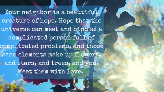 Meet Anger With Love: A World Through The Eyes Of A HopelessRomantic